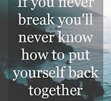if you never break quote by kittyholocaust