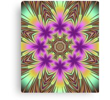 The blooming kaleidoscope Canvas Print