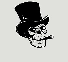 Skull hat and cigar Unisex T-Shirt