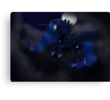 My little Pony: Friendship is Magic - Princess Luna - Night Flight Canvas Print