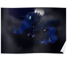 My little Pony: Friendship is Magic - Princess Luna - Night Flight Poster