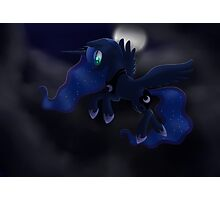 My little Pony: Friendship is Magic - Princess Luna - Night Flight Photographic Print