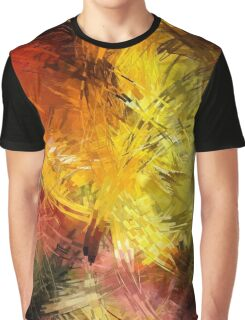 Lines Creative Bright Colors Graphic T-Shirt