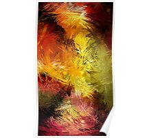 Lines Creative Bright Colors Poster