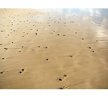 sand meets sky Photographic Print