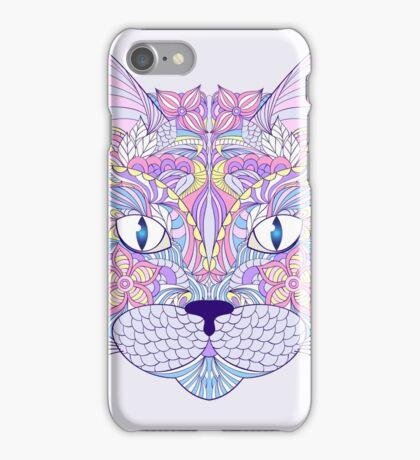head of cat iPhone Case/Skin