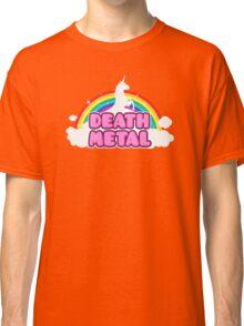 Unicorn Rainbow Death Metal Classic T-Shirt