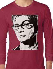 David Tennant: 10th Doctor Long Sleeve T-Shirt