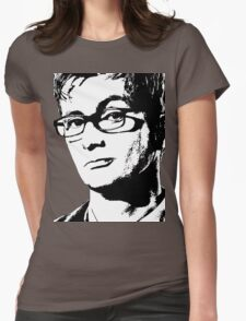 David Tennant: 10th Doctor Womens Fitted T-Shirt