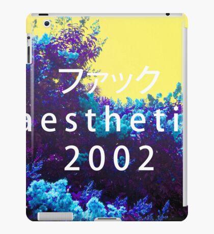 Aesthetic 2000 Vaporwave Sadboys iPad Case/Skin