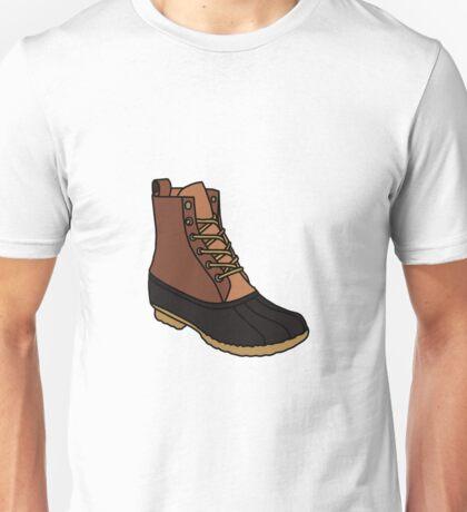 Duck Boot Unisex T-Shirt