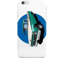 1966 Ford F100 Teal & White - iPhone Case iPhone Case/Skin