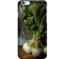 Still Life with Turnips iPhone Case/Skin