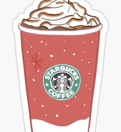 Starbucks Latte Sticker
