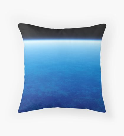 ocean at planet Throw Pillow