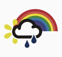 A chance of rainbows Kids Clothes