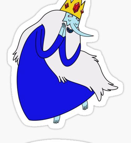 Adventure Time - Ice King 1 Sticker