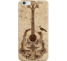 The Guitar's Song iPhone Case/Skin