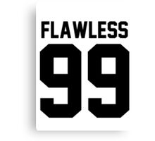 Flawless '99 - Jersey Tee + Phone Case Canvas Print