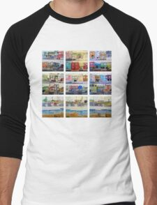 Sunset Series Men's Baseball ¾ T-Shirt