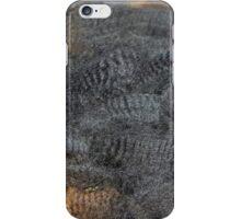 Natural Charcoal Grey Romney Fleece iPhone Case/Skin
