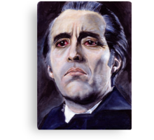He is the embodiment of all that is evil. Canvas Print