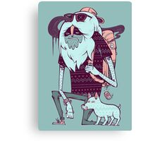 Abominable Broham  Canvas Print