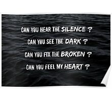 Can You Feel My Heart - Bring Me The Horizon Poster