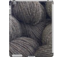 Natural Grey Handspun Yarn iPad Case/Skin