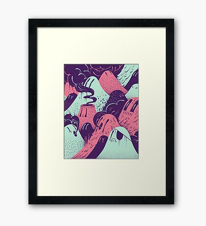Lavalumps Framed Print