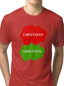 The Fault In Our Stars Christmas Tri-blend T-Shirt
