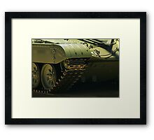 heavy armored vehicle  Framed Print