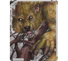 Stay away from the beast iPad Case/Skin