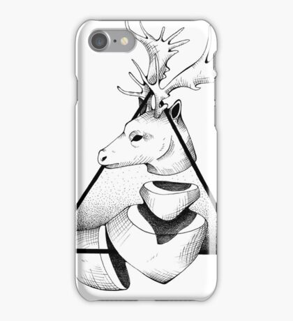 Metaphisical Deer iPhone Case/Skin