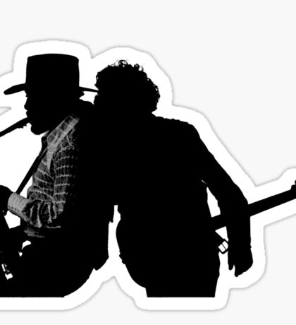 Bruce & Clarence Sticker