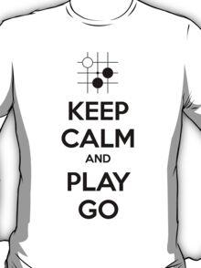 Keep Calm and Play Go T-Shirt