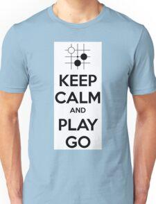 Keep Calm and Play Go Unisex T-Shirt