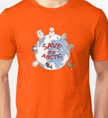 Save the Arctic Unisex T-Shirt