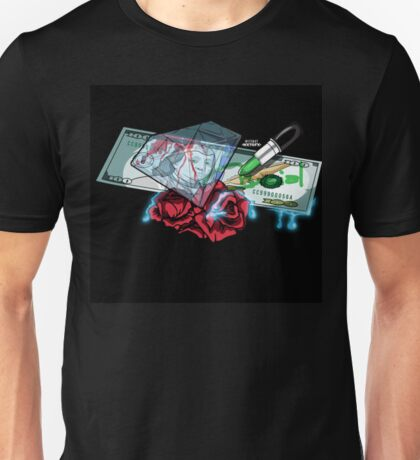 sex money and love Unisex T-Shirt