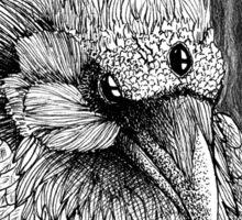 Three eyed Crow Sticker