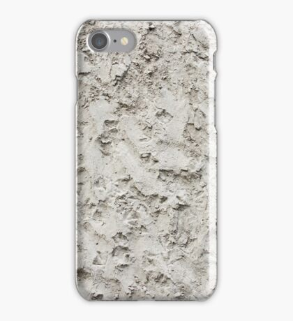 Cement Wall Stone Pattern iPhone Case/Skin