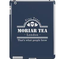 MoriarTea: What People Brew (white) iPad Case/Skin