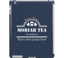 MoriarTea: What People Brew (white) iPad Case/Skin
