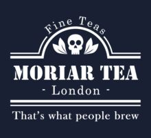 MoriarTea: What People Brew (white) One Piece - Long Sleeve