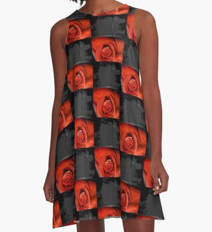 behold rose A-Line Dress