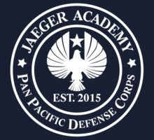 Jaeger Academy logo in white! by mekb