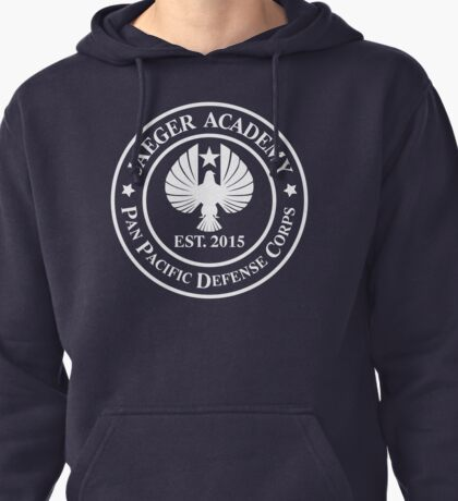 Jaeger Academy logo in white! Pullover Hoodie