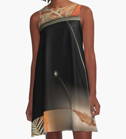 ancient river bed A-Line Dress