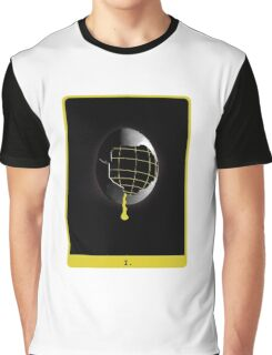 Space Egg Tarot Card Graphic T-Shirt