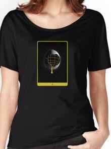 Space Egg Tarot Card Women's Relaxed Fit T-Shirt